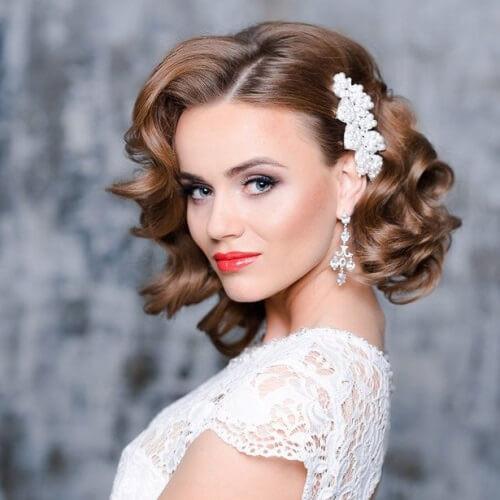 Medium Length Bridesmaid Hairstyles  50 Dazzling Medium Length Hairstyles