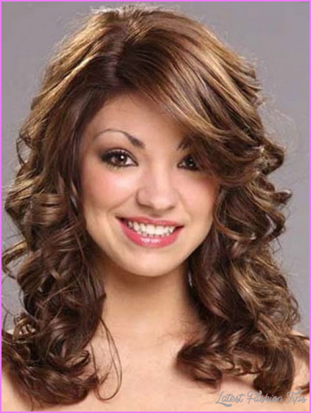 Medium Length Curly Hairstyles  Easy medium length haircuts for wavy hair