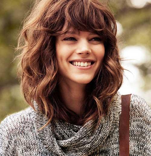 Medium Length Curly Hairstyles  35 Medium Length Curly Hair Styles