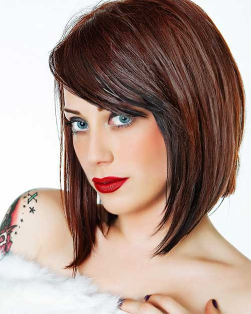 Best ideas about Medium Length Haircuts For Thick Hair . Save or Pin 15 Thick Medium Length Hairstyles Now.