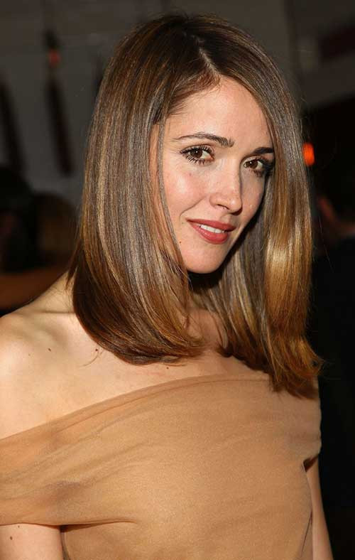 Best ideas about Medium Length Haircuts For Thick Hair . Save or Pin Haircuts for Medium Thick Hair Now.
