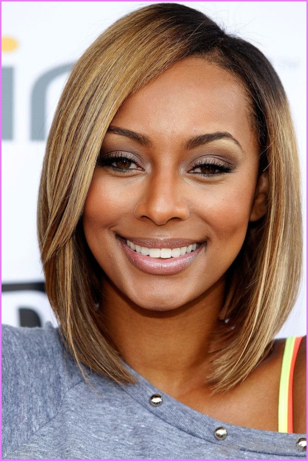 Medium Length Hairstyles For African American Hair  Medium Haircuts African American Hair