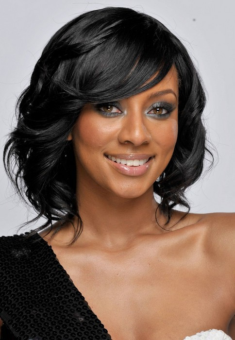 Medium Length Hairstyles For African American Hair  23 African American Prom Hairstyles Gallery of Black