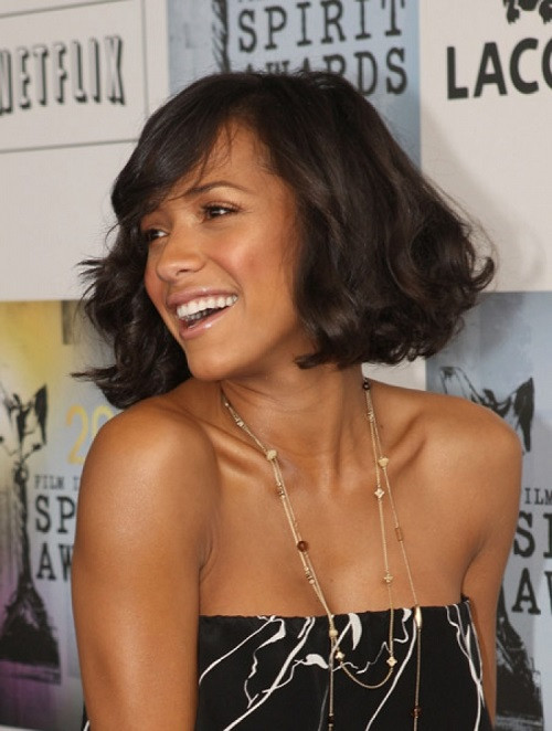 Medium Length Hairstyles For African American Hair  The Makeupc And Hairstyles May 2013