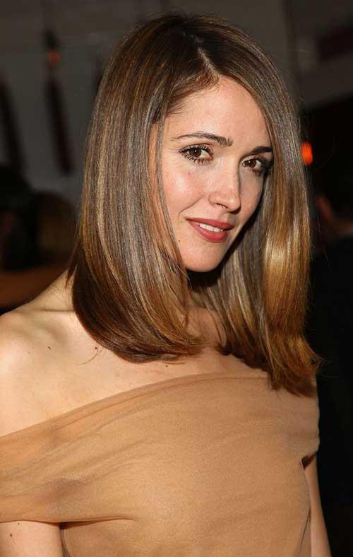 Medium Length Hairstyles Thick Hair  Haircuts for Medium Thick Hair