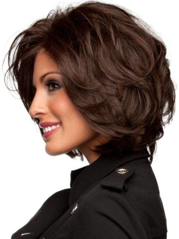 Medium Length Hairstyles Thick Hair  Best Medium Length Hairstyles for Thick Hair – CircleTrest