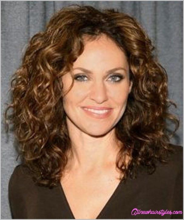 Medium Length Naturally Curly Hairstyles  Medium natural curly haircuts AllNewHairStyles