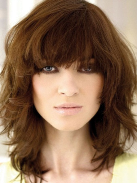 Best ideas about Medium Shag Hairstyles . Save or Pin 20 Classy Long and Medium Shag Haircuts Now.