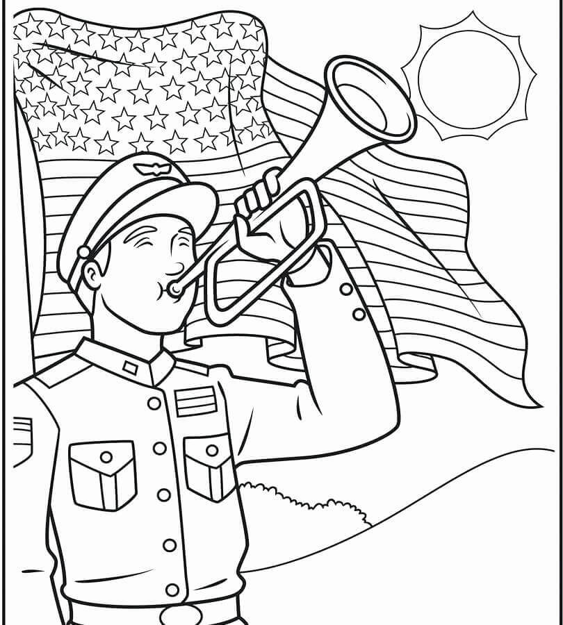 Memorial Day Coloring Pages Printable  25 Free Printable Memorial Day Coloring Pages
