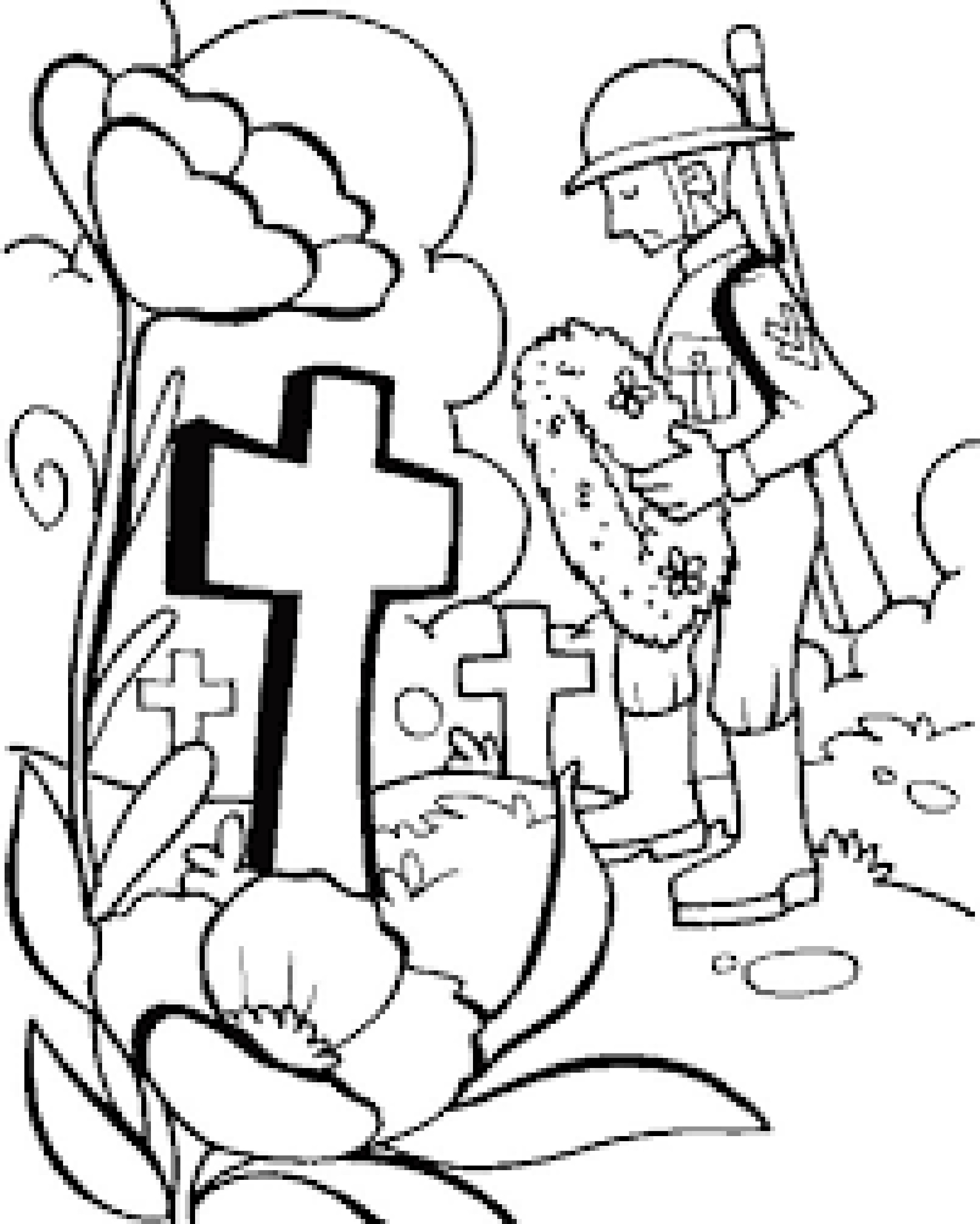 Memorial Day Coloring Pages Printable  Memorial Day Coloring Page