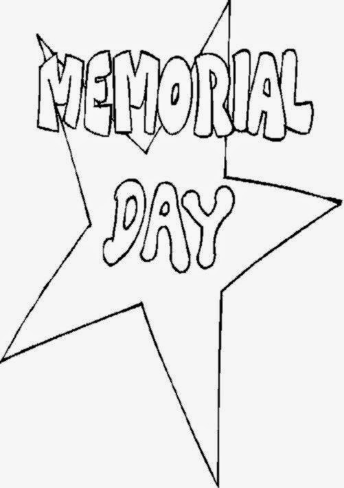Memorial Day Free Coloring Sheets  Memorial Day To Color