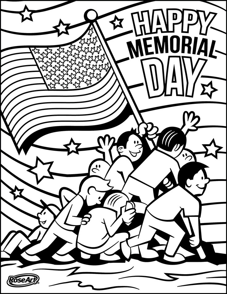 Memorial Day Free Coloring Sheets  Pledge Allegiance Coloring Page AZ Coloring Pages