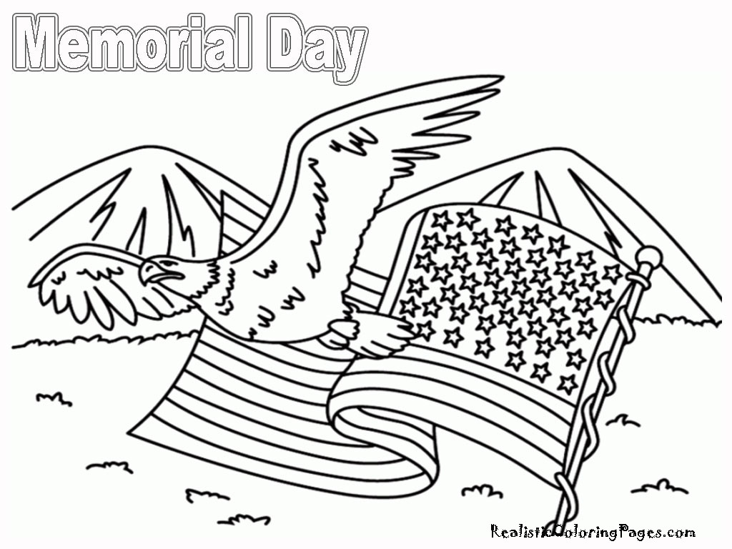 Memorial Day Free Coloring Sheets  Memorial Day Coloring Pages