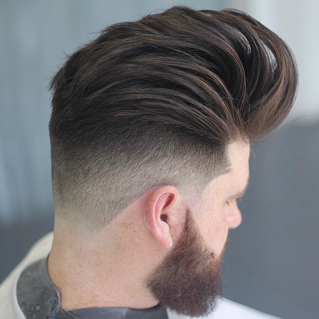 Men Hairstyle 2019 Undercut  Pompadour Hairstyles & Haircuts for 2018 – Viral 21 Pomp