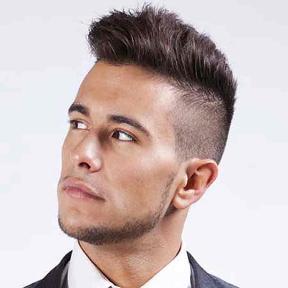 Men Hairstyle Undercut  Undercut Hairstyle Men Back Head
