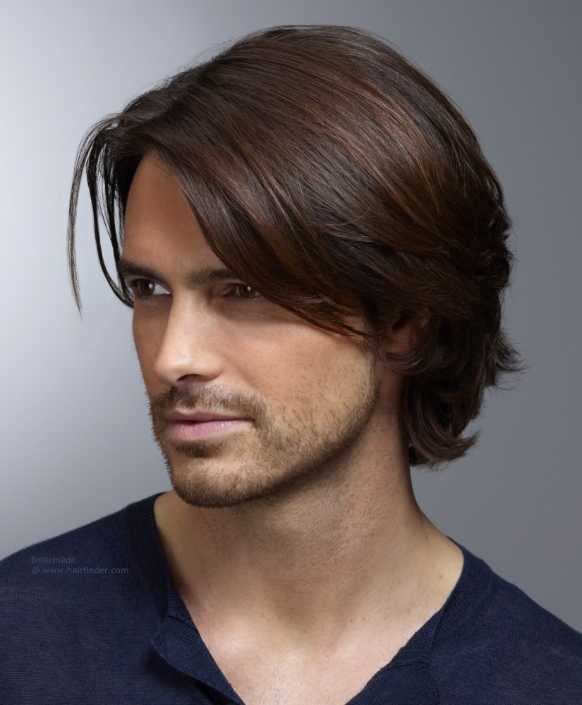 Men Medium Haircuts  Men's Hairstyles Suitable For Face Shape 2016 2017