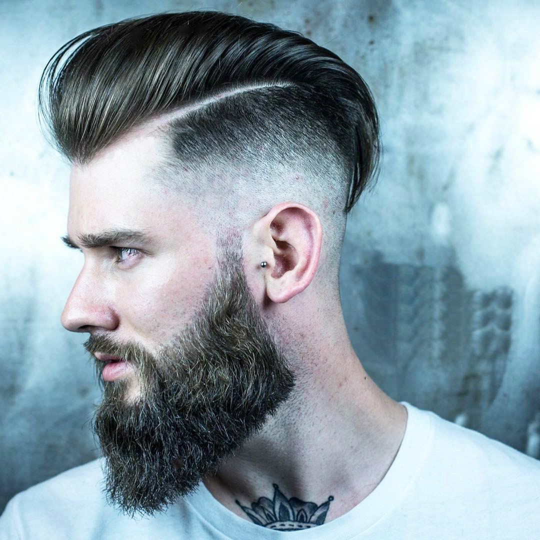 Men Undercut Hairstyles  COOL CLASSIC BEARED MEN'S HAIRSTYLES Motivational Trends