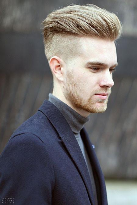 Men Undercut Hairstyles  19 Cool Blonde Men Hairstyle