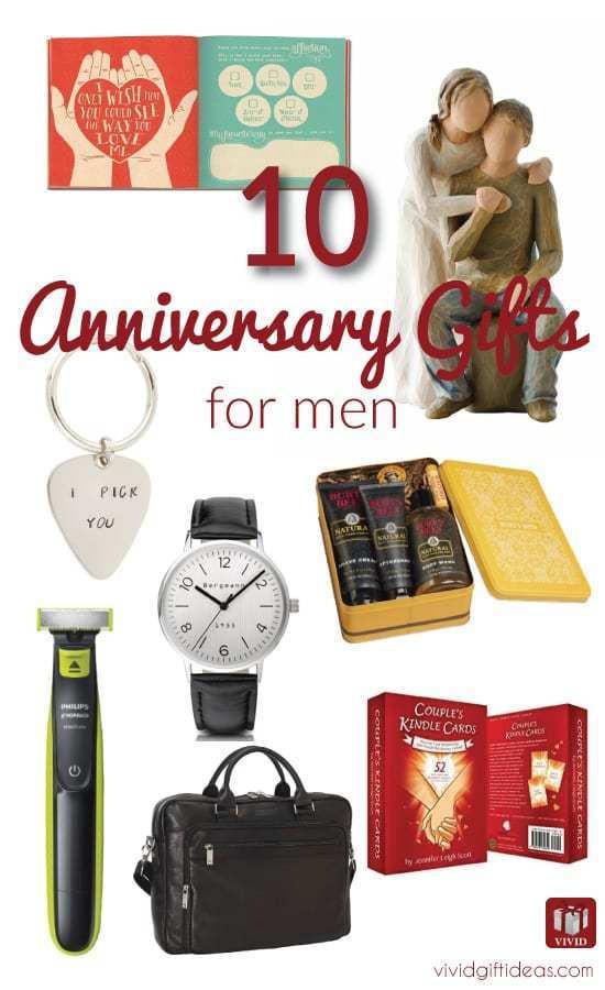 Mens Anniversary Gift Ideas  Top 10 Anniversary Gift Ideas for Men Vivid s