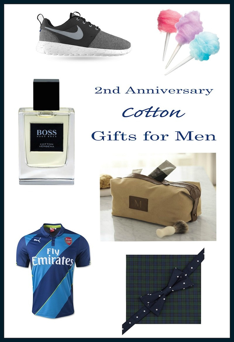 Mens Anniversary Gift Ideas  2nd Anniversary Gift Ideas for Him — Runway Chef