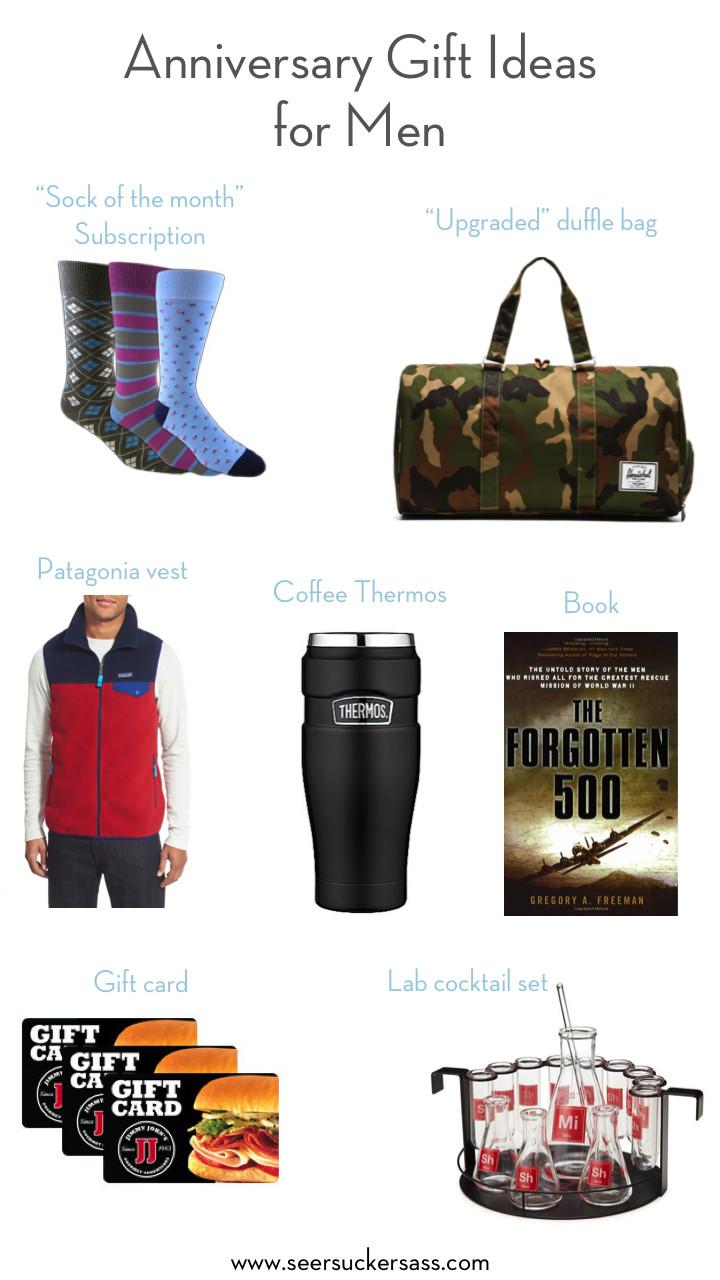 Mens Anniversary Gift Ideas  Anniversary Gift Ideas for Men