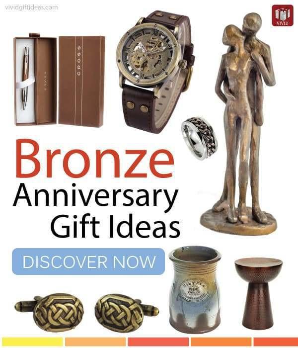 Mens Anniversary Gift Ideas  Top Bronze Anniversary Gift Ideas for Men Vivid s