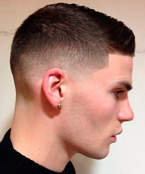 Best ideas about Mens Faded Haircuts . Save or Pin Fade haircut for handsome men Now.