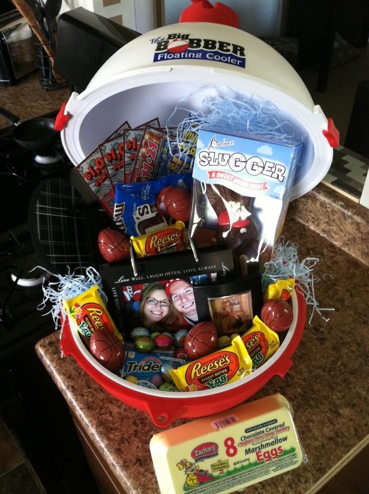 Best ideas about Mens Gift Baskets Ideas . Save or Pin Men's Easter Basket Ideas Now.
