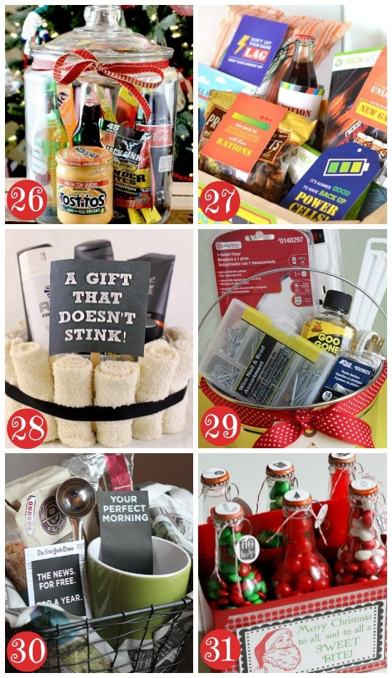 Best ideas about Mens Gift Baskets Ideas . Save or Pin 50 Themed Christmas Basket Ideas The Dating Divas Now.