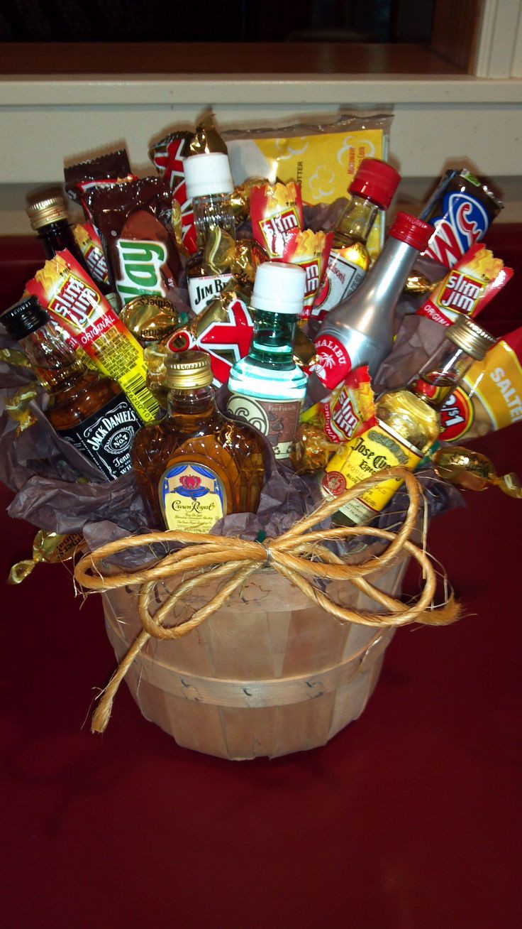 Best ideas about Mens Gift Baskets Ideas . Save or Pin 17 Best images about Man Bouquet on Pinterest Now.