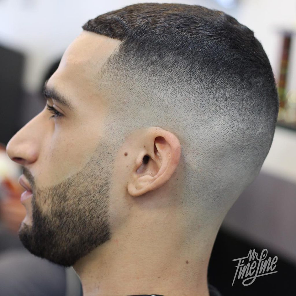 Mens Hairstyles Fade  40 Top Taper Fade Haircut for Men High Low and Temple