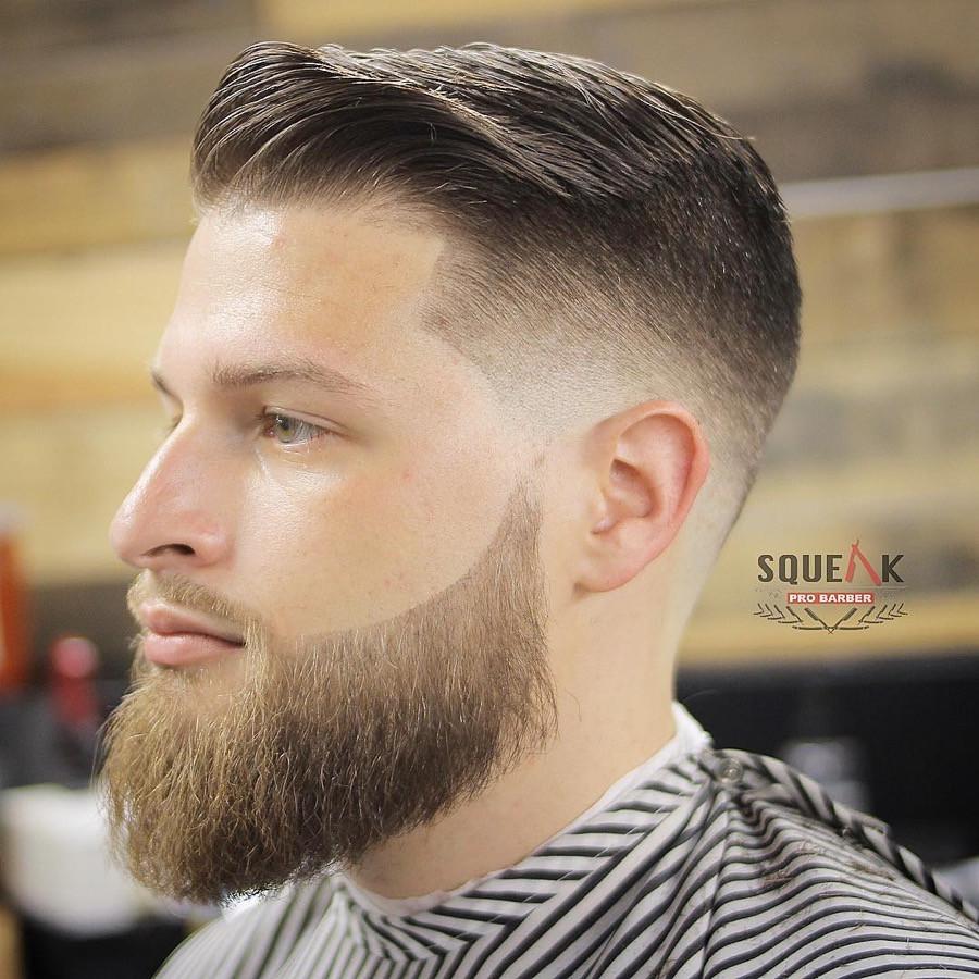 Mens Hairstyles Fade  b Over Fade Haircuts