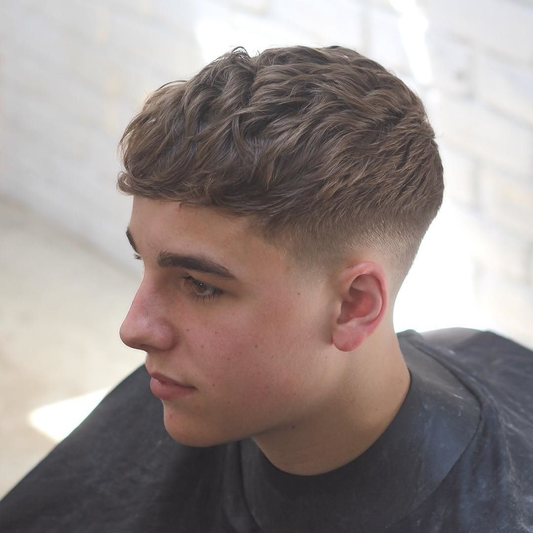Mens Hairstyles Fade  2016 2015 Men s hairstyle Pinterest