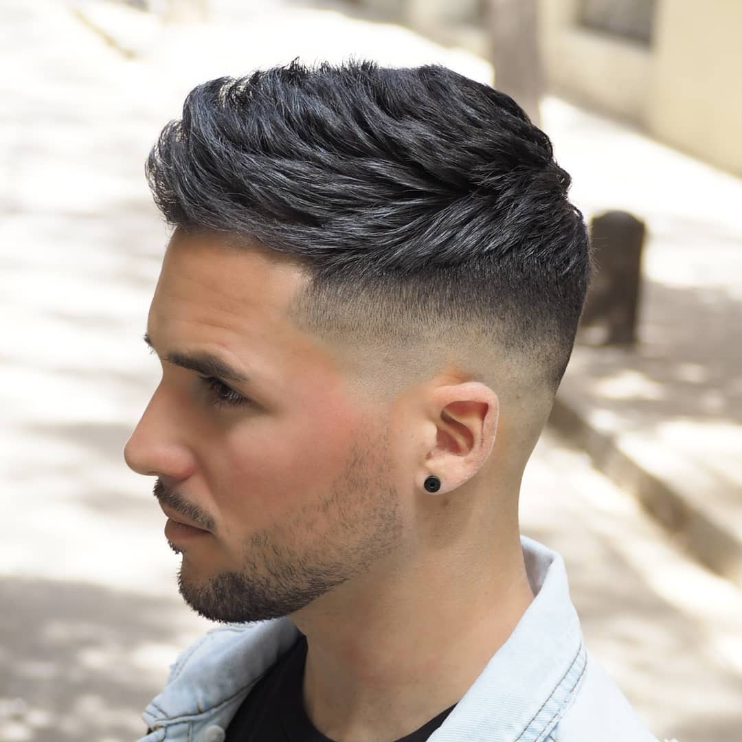 Mens Hairstyles Fade  The Best Fade Haircuts For Men 33 Styles 2018