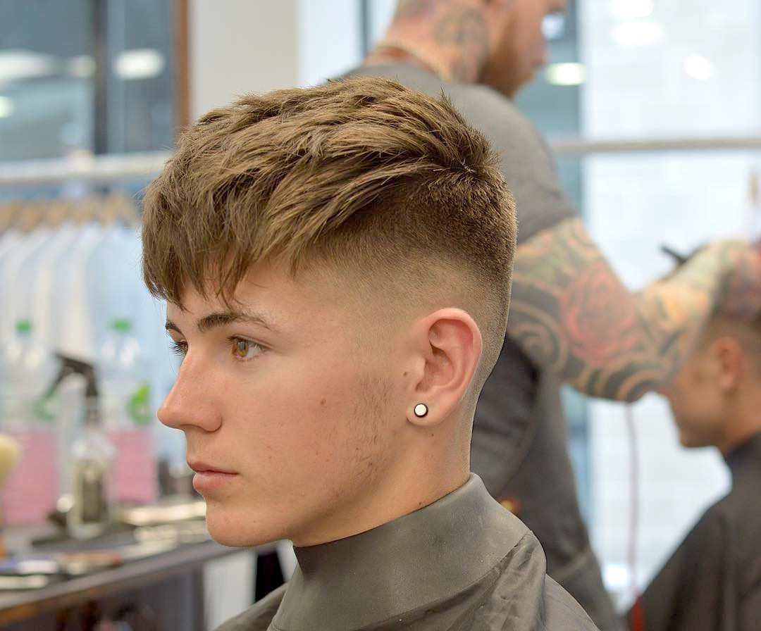 Mens Hairstyles Fade  27 Fade Haircuts For Men