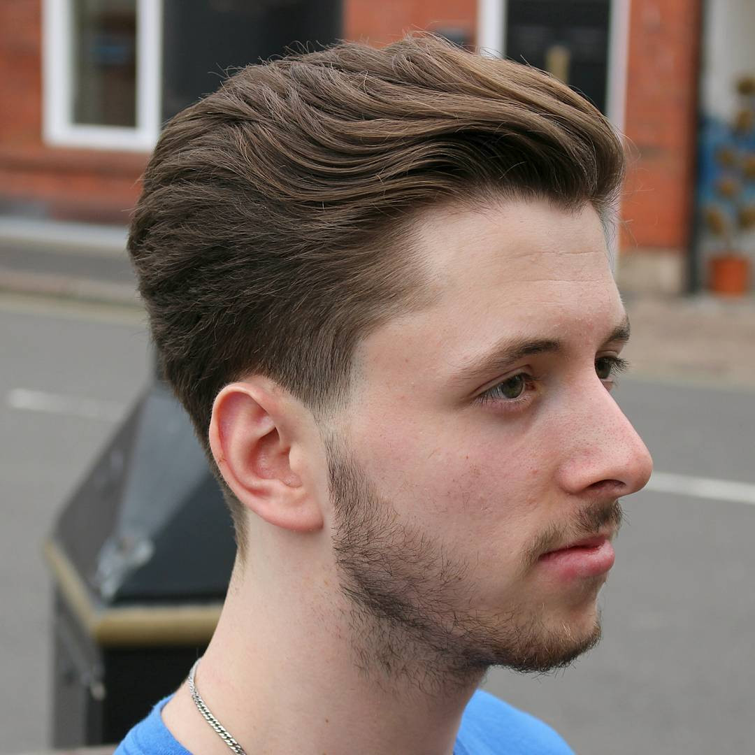 Mens Hairstyles Fade  70 Best Taper Fade Men s Haircuts [2018 Ideas&Styles]