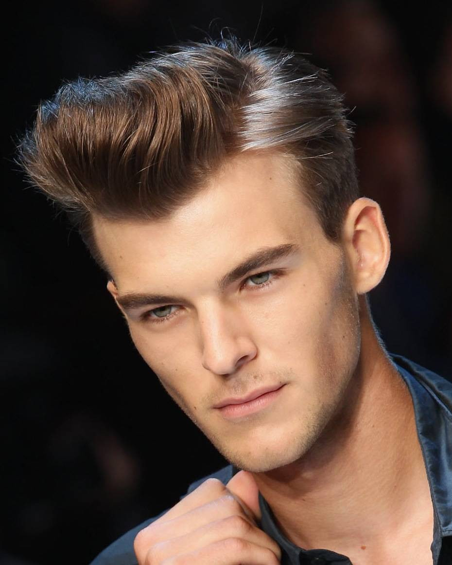 Mens Pompadour Haircuts  Men's Hairstyles 2015 New Hairstyle Trends