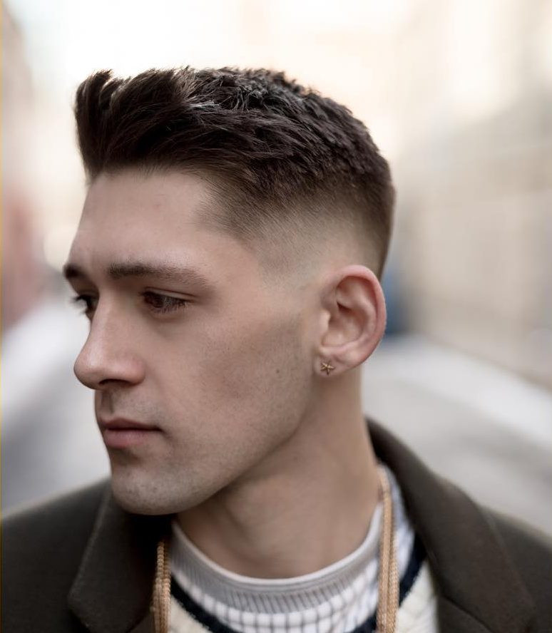 Mens Shaved Haircuts  Cool Haircuts With Shaved Sides