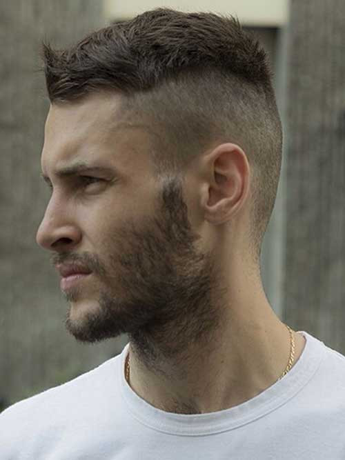 Mens Shaved Haircuts  15 New Funky Hairstyles for Men