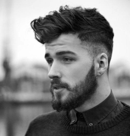 Mens Shaved Haircuts  50 Shaved Sides Hairstyles For Men Throwback Haircuts