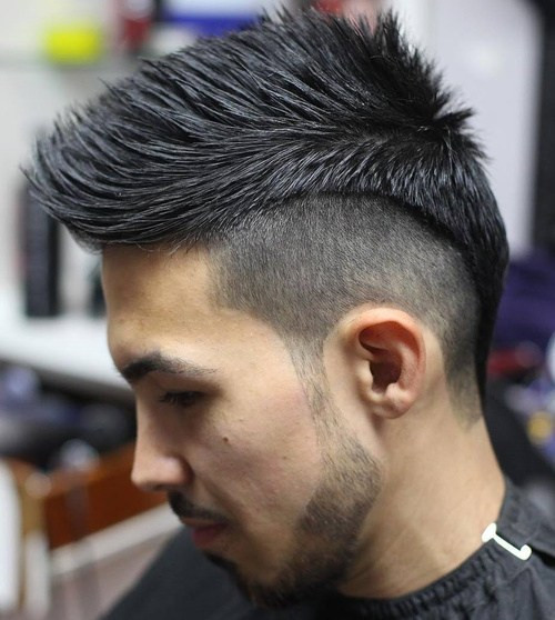 Mens Shaved Haircuts  40 Ritzy Shaved Sides Hairstyles And Haircuts For Men