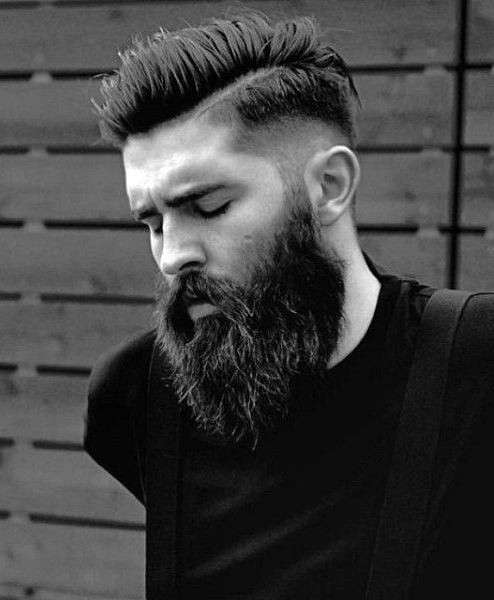 Mens Short Haircuts With Beard  50 Hairstyles For Men With Beards Masculine Haircut Ideas