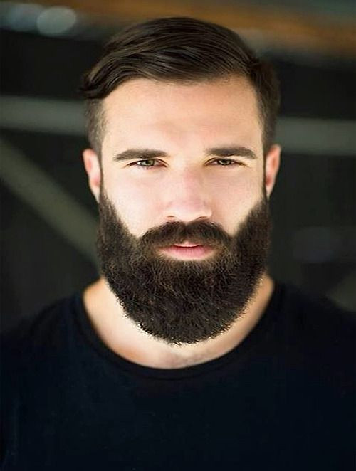 Mens Short Haircuts With Beard  Stylish Men's Hairstyle With Beard 2016 HairzStyle
