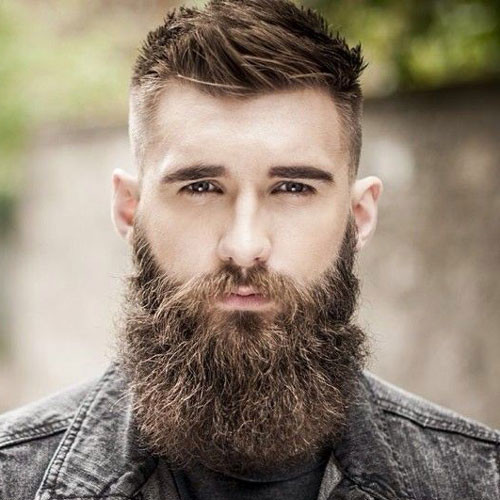 Mens Short Haircuts With Beard  25 Cool Beards and Hairstyles For Men 2019