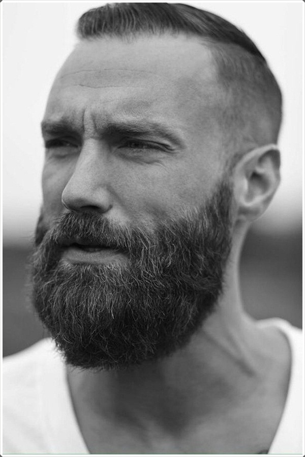 Mens Short Haircuts With Beard  80 Strong Military Haircuts for Men to Try This Year