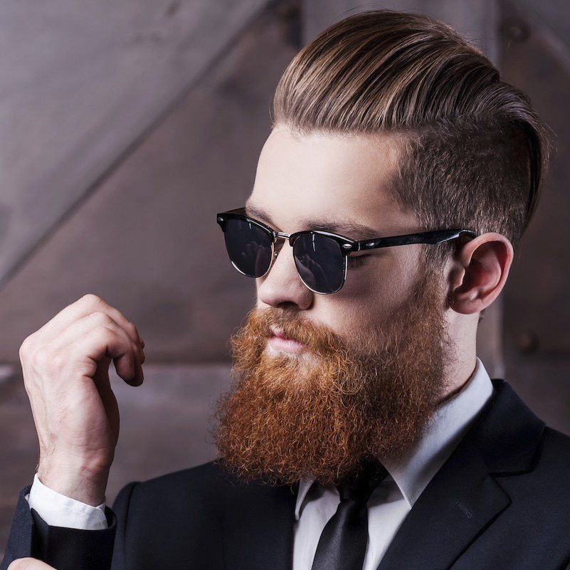 Mens Short Haircuts With Beard  Men s Hairstyles & Beards Trends 2017