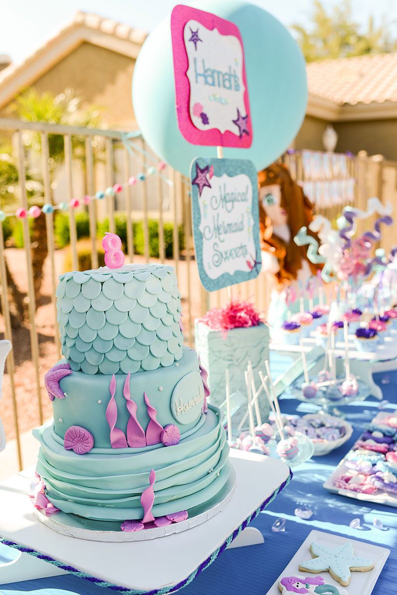 Best ideas about Mermaid Themed Birthday Party . Save or Pin Mermaid Swim Birthday Party Lillian Hope Designs Now.