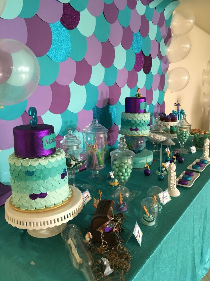 Best ideas about Mermaid Themed Birthday Party . Save or Pin Little Mermaid Party by Flo and Erica Now.