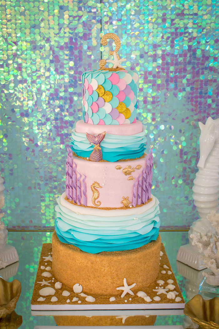 Best ideas about Mermaid Themed Birthday Party . Save or Pin Kara s Party Ideas Mermaid Cove Birthday Party Now.