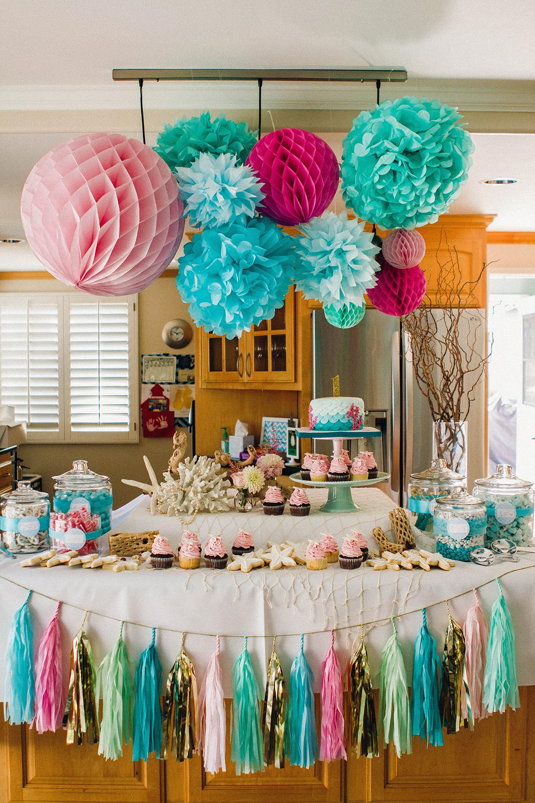 Best ideas about Mermaid Themed Birthday Party . Save or Pin Emilee s Fun Mermaid Themed Birthday Party Now.
